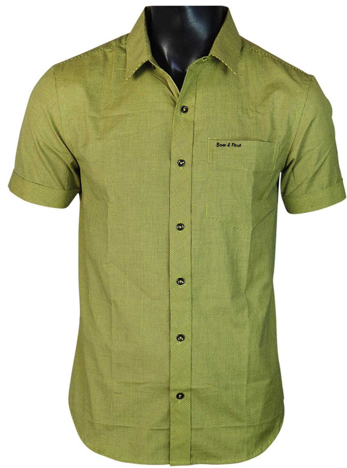 Slim Fit - Athen Cotton Soft Shirt