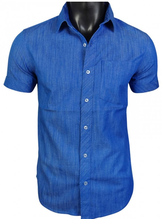 Slim fit - Denim Ink Blue Shirt