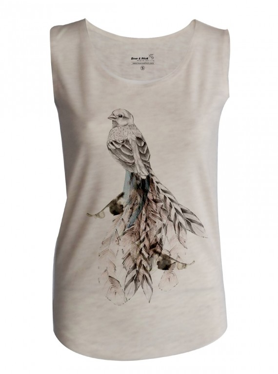 Rabbit Print Womens Top