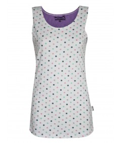 Multi Dotted Sleeveless Top