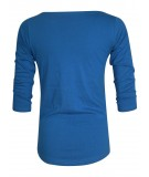 Amparo Blue Long Sleeve Womens Top