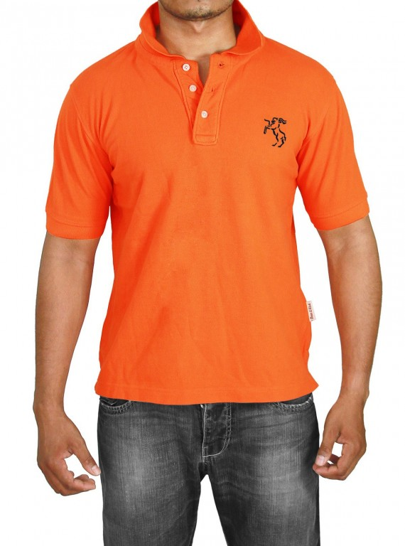 Orange Polo Tshirt