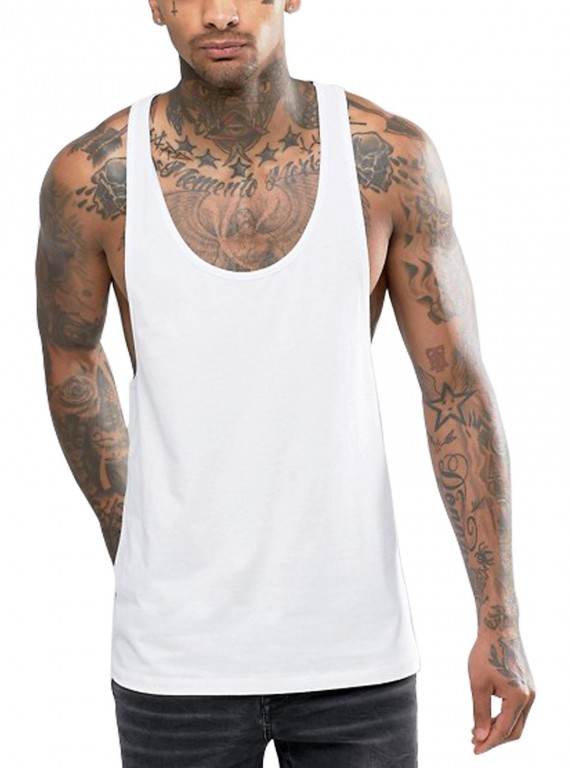 Extreme Racer Back - White
