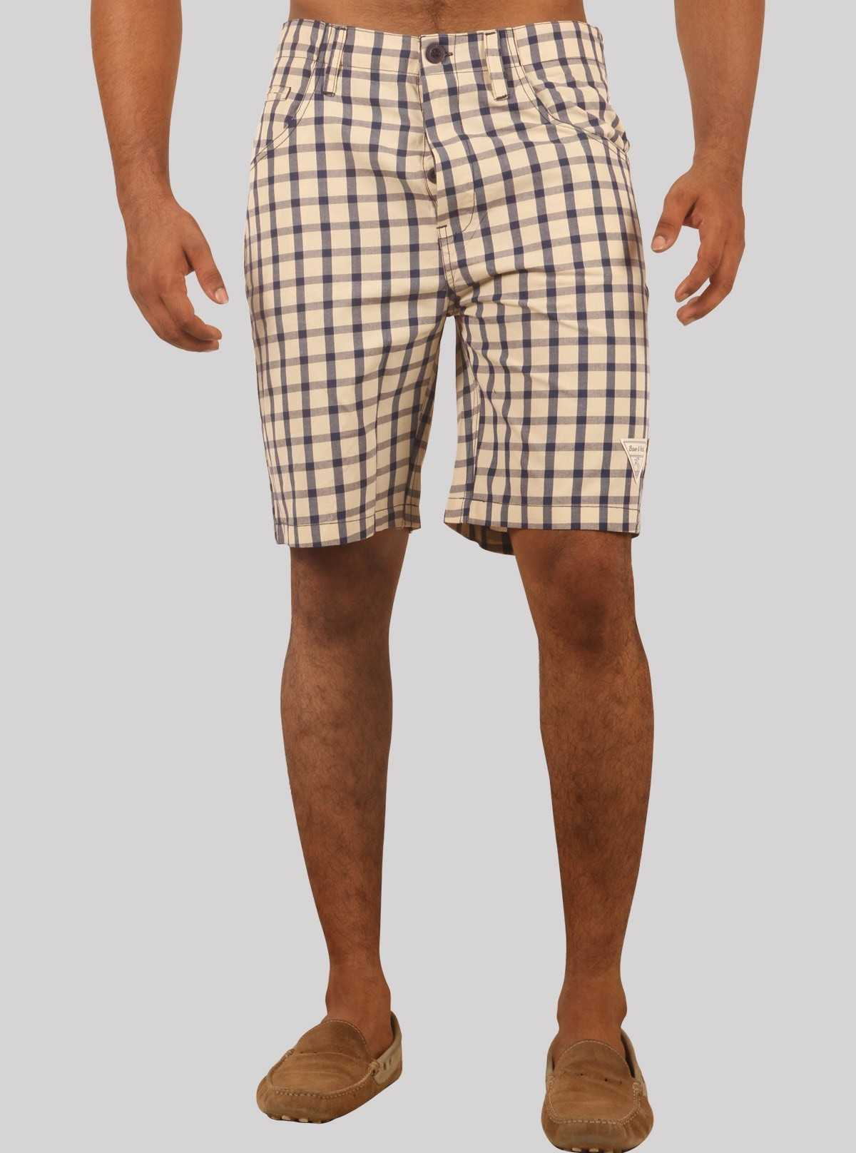 Sandal broad check shorts