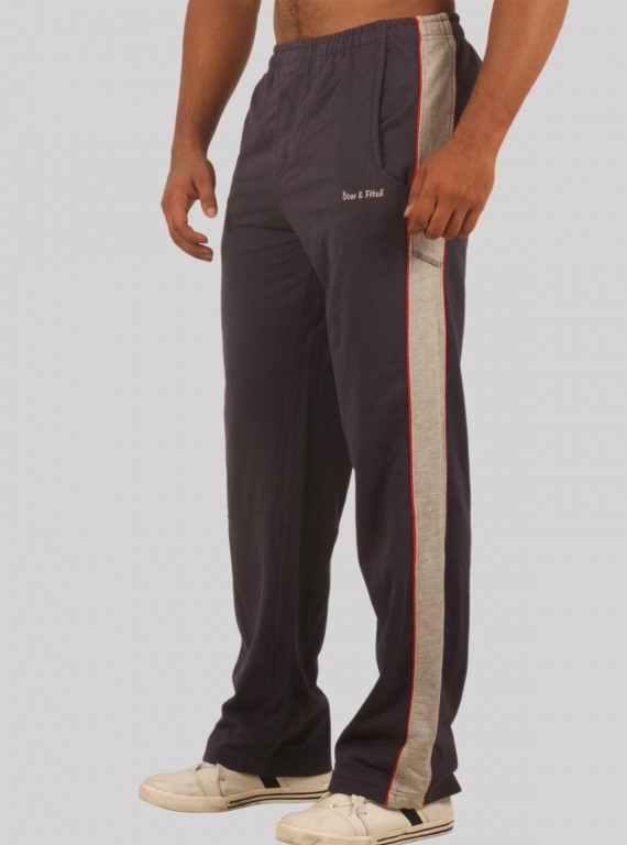 Navy Track Pants