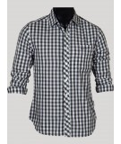 Slim Fit - Grey Check Shirt