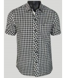 Regular fit - Black Checks Casual Shirt