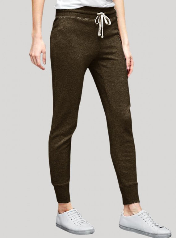 Dark Green Womens Sweat Pant