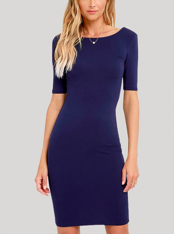 Blue Womens Dress