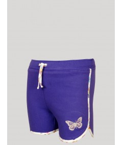 Womens Purple Shorts