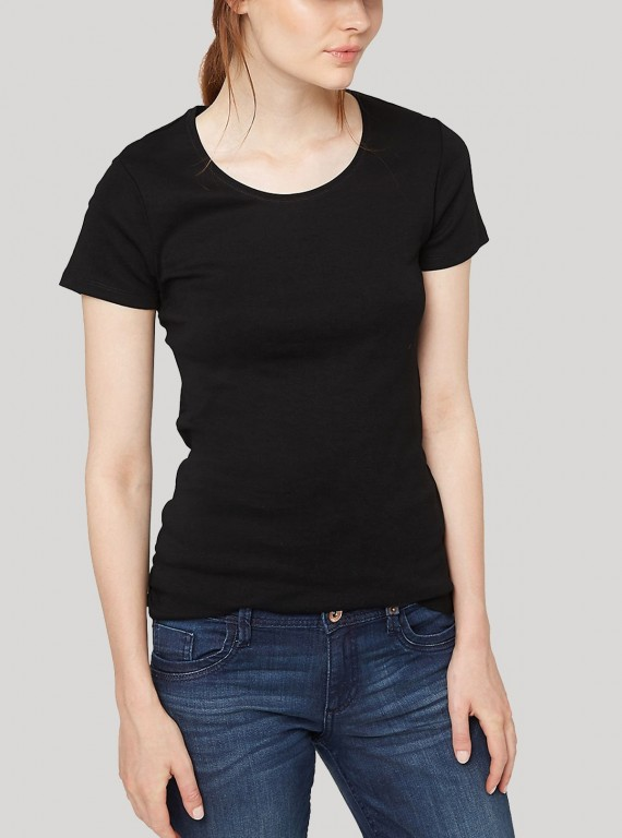 Short Sleeve TShirt - Black