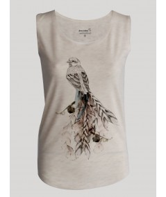 Birdy Print Womens Top