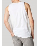 Solid Tank Top - White