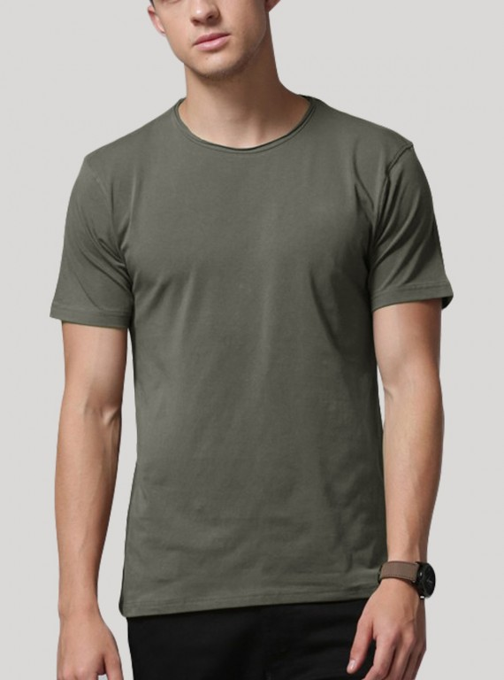 Men's Slub Jersey TShirt - Green
