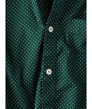 Green Dotted Print Shirt
