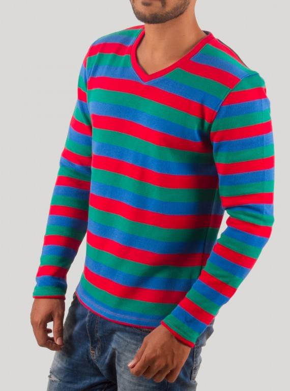 Multi Color Pull Over