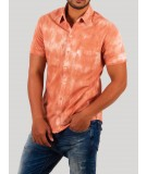 Orange Tie and Dye Shirt