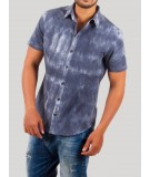Navy Tie and Dye Shirt