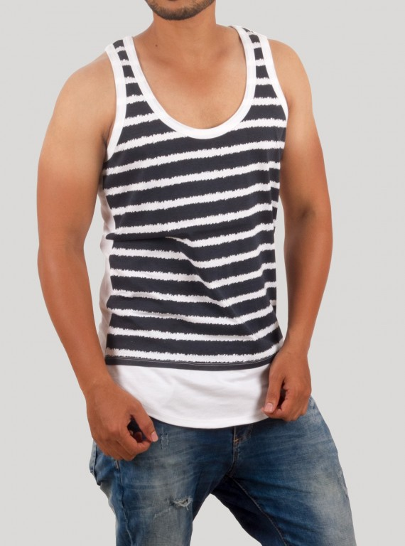 Blue Stripe Tank top
