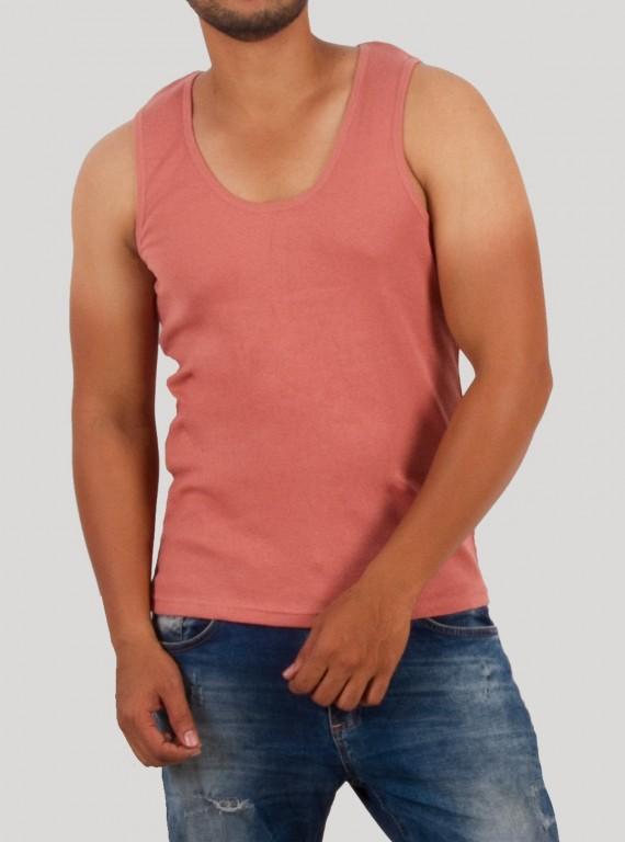Coral Sleeveless TShirt