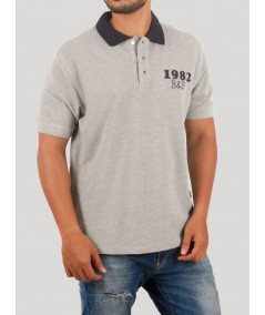 Navy Collared Polo Tshirt