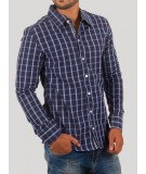 Ink Blue Casual Shirt