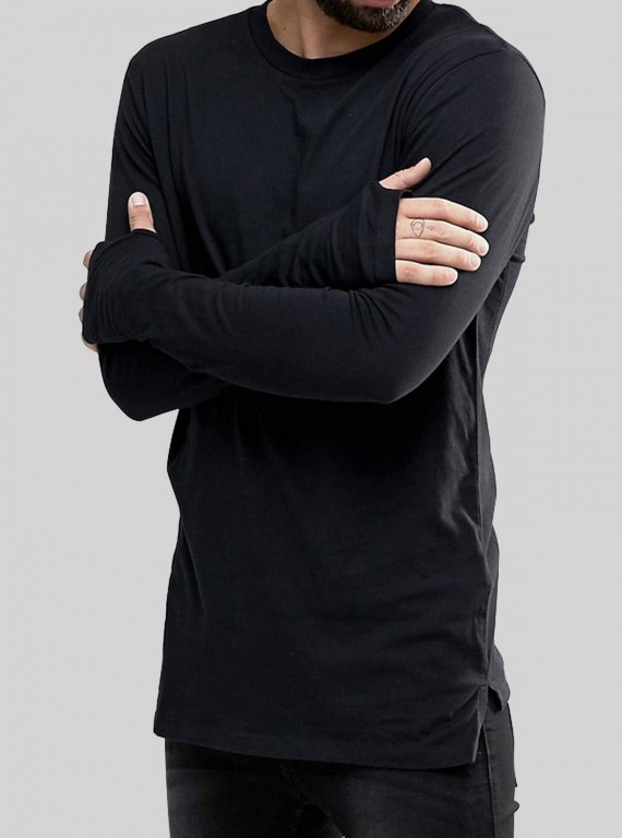 Dark Navy Long Tshirt