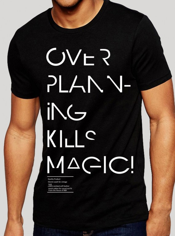 Black Magic Print TShirt