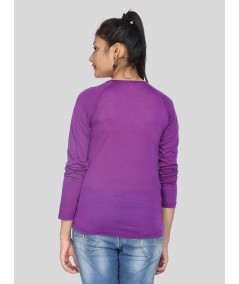 Fruitta Violet Viscose Top