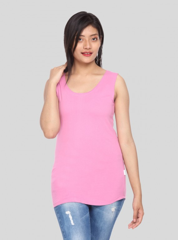 Women's Sleeveless Top - Fuchsia