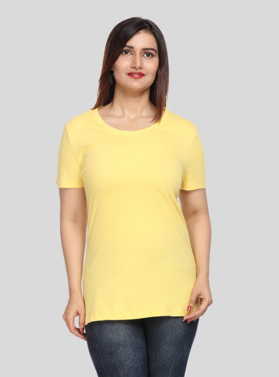 Short Sleeve TShirt - Yellow
