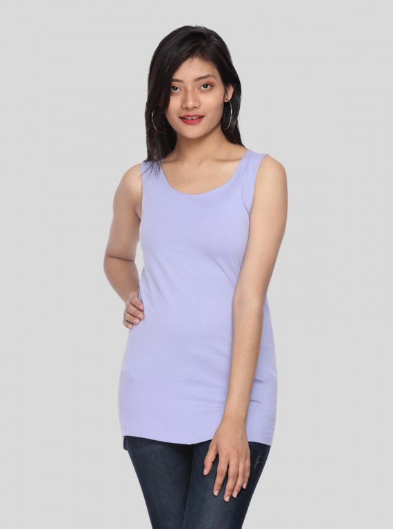 Womens Sleeveless Top - Lilac