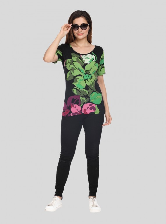 Row Floral Top