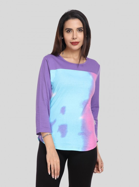 Tie & Dye Womens Top