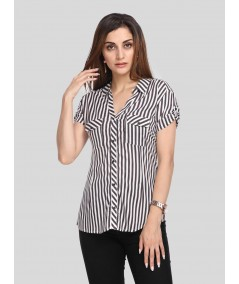 Stripped Women Shirt
