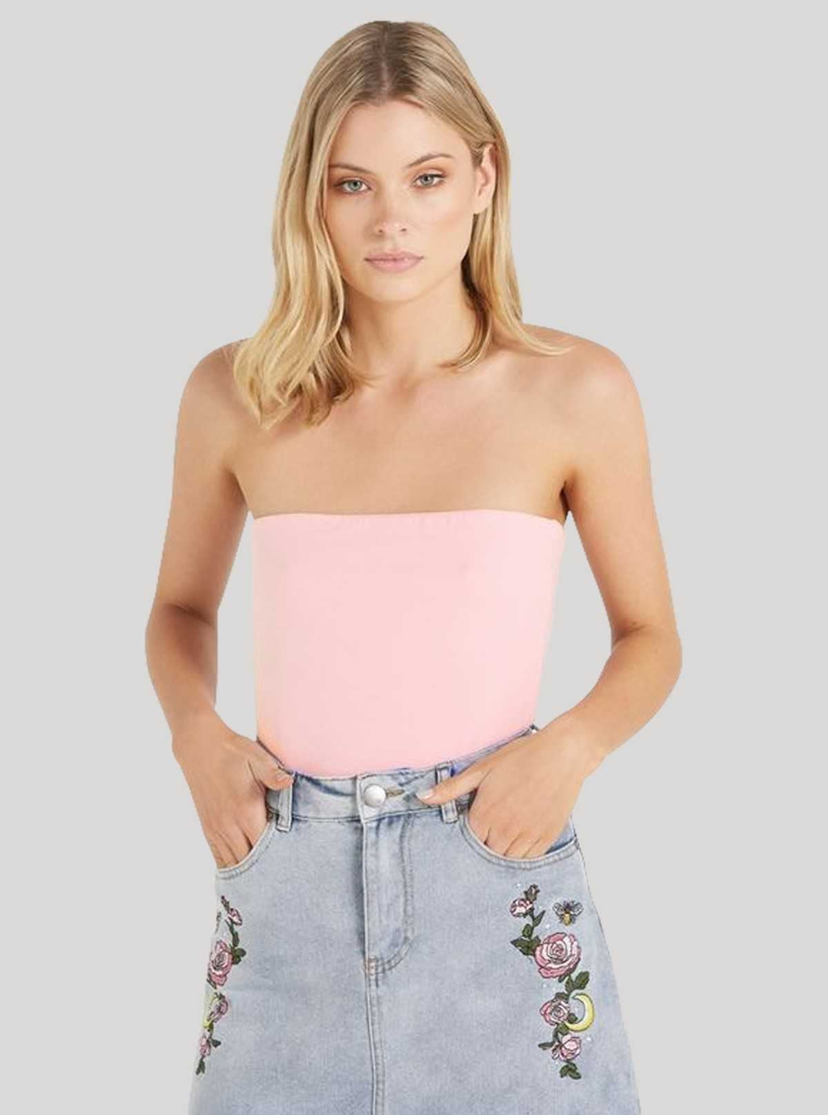 Womens Tube Top - Pink