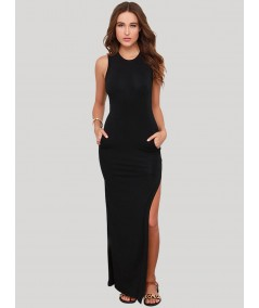 Black Womens Long Dress