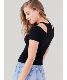 Black Durby Knit Top