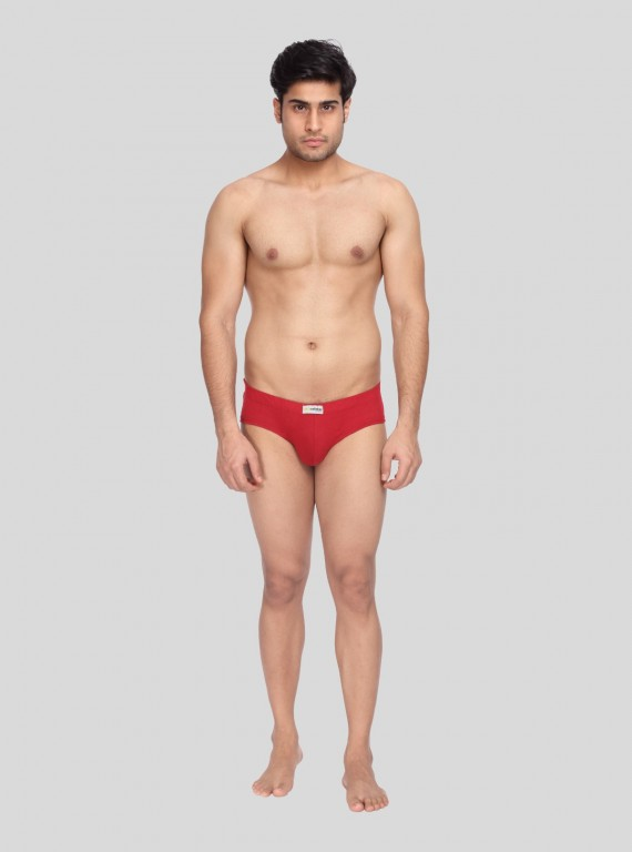 Red Jersey Brief