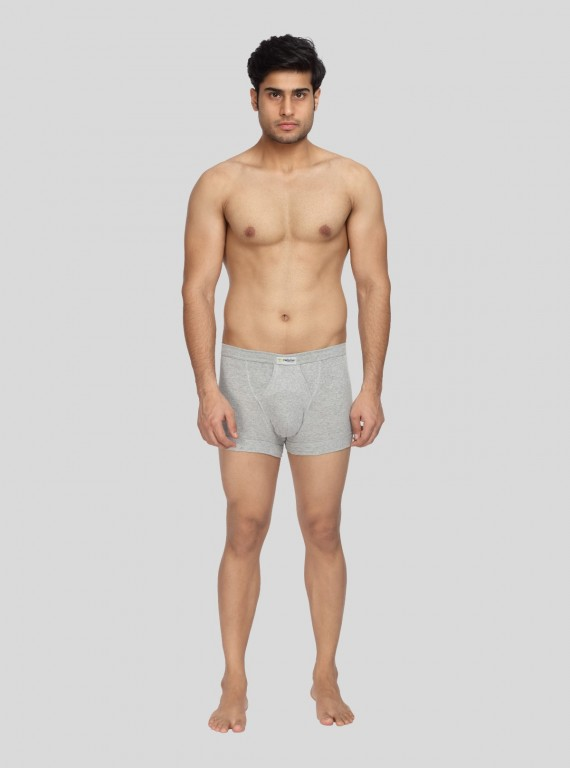 Grey Melange Inner Band Brief