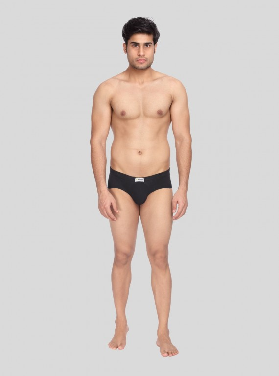 Black jersey Brief