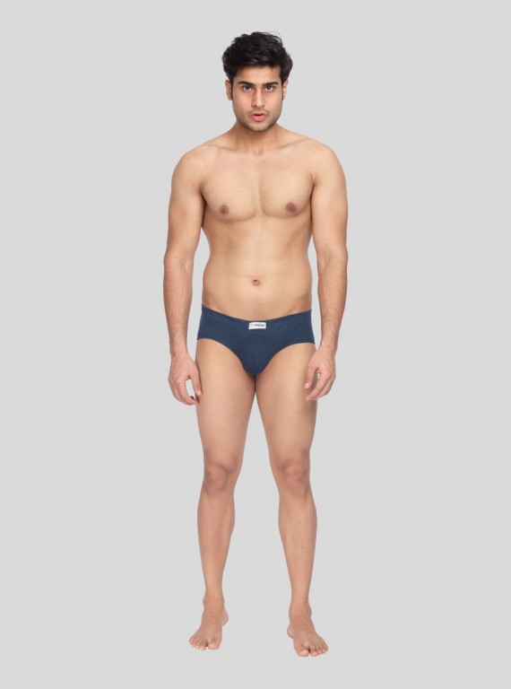 Navy jersey Brief