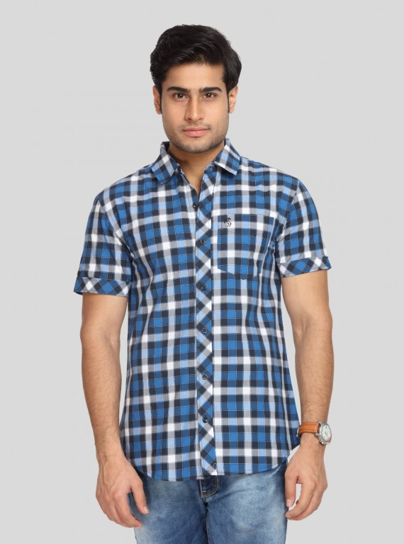 Ink Checkered Shirt