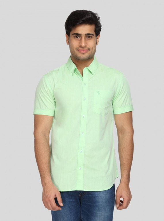 Soft  Green Cotton Shirt