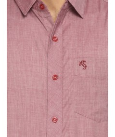 Red Half Sleeve Shirt