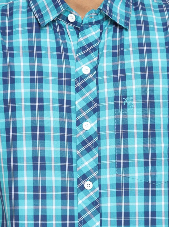 Aqua Stripped Shirt