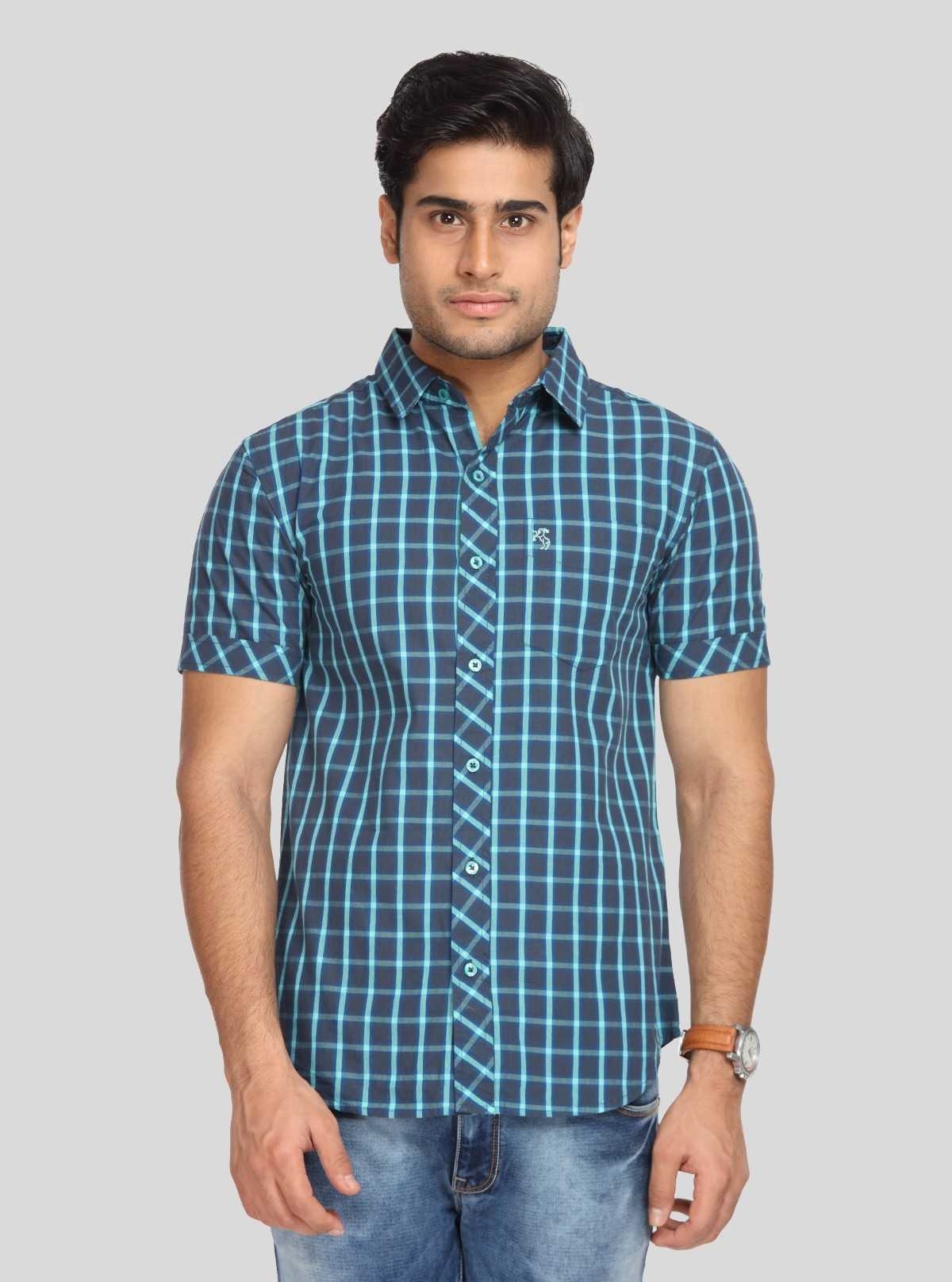 Indigo Checks casual shirt