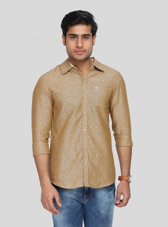 Sand Graficca Slim Fit Shirt