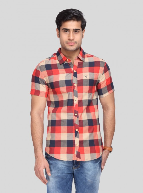Multi Dark Check Shirt