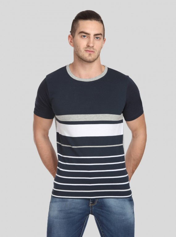 Black Stripped TShirt